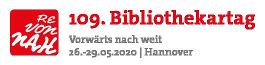 109. Deutscher Bibliothekartag in Hannover 2020